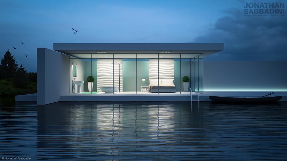 Una sera nella casa sul lago jonathan sabbadini for Planimetrie della piccola casa sul lago